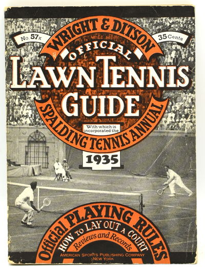New York: American Sports Publishing Co, 1935. Soft Cover. Very Good binding. 16mo.; in the publishe...