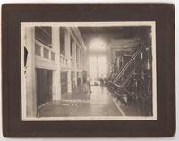 "Original photograph, 7"" x 5"" mounted, interior of Hydroelectric plant/generating station at Gatun Dam on Chagres River, Panama Canal Zone"
