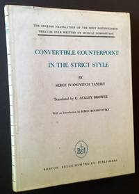 Convertible Counterpoint in the Strict Style