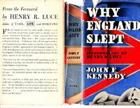 Why England Slept by  John F Kennedy - 1st Edition - 1940 - from ArchersBooks.com and Biblio.com