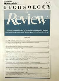 Technology in Review Vol. IV Winter 1989: A Periodic Journal Published for the Technical...