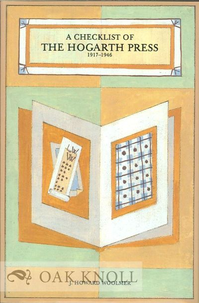 Revere, Pa: Woolmer - Brotherson Ltd, 1986. cloth, dust jacket. Hogarth Press. 8vo. cloth, dust jack...