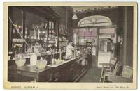 image of Sydney Australia, Steve Senhouse, 161 King St. (postcard showing the interior of Sydney shop)