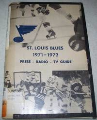 image of Blue Notes 1971-1972: Official Guide of the St. Louis Blues Hockey Club