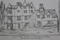 Old Combe House, near Campden Co. Glouc. before the alterations by Lord Campden. [Lithographic reproduction of a drawing]