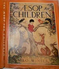 The Aesop For Children (1919 unclipped Rand McNally Dust Jacket Only)