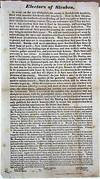 ELECTORS OF STEUBEN, AS USUAL, ON THE EVE OF ELECTION, THE COUNTRY IS FLOODED WITH HANDBILLS, FILLED WITH MASONIC FALSEHOODS AND TREACHERY..