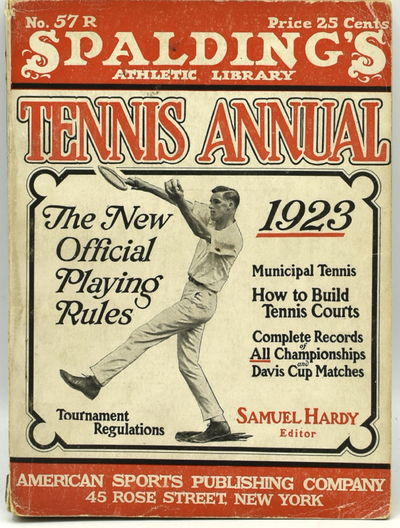 New York: American Sports Publishing Company, 1923. Original Wrappers. Very Good binding. 16mo.; in ...