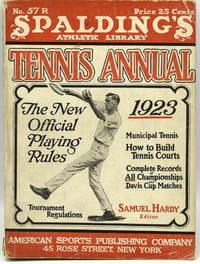 [TENNIS] SPALDING'S TENNIS ANNUAL 1923
