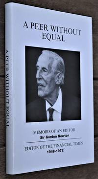 A PEER WITHOUT EQUAL Memoirs Of An Editor