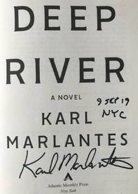 DEEP RIVER (SIGNED, DATED & NYC)