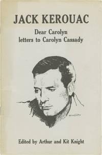 Dear Carolyn: Letters to Carolyn Cassidy (First Edition)