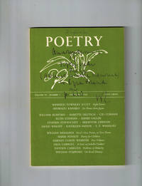 Poetry, Volume 101, Number 3, December, 1962