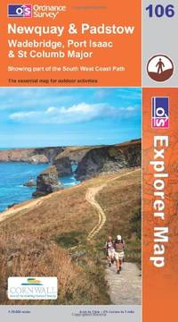 image of Newquay and Padstow (OS Explorer Map)