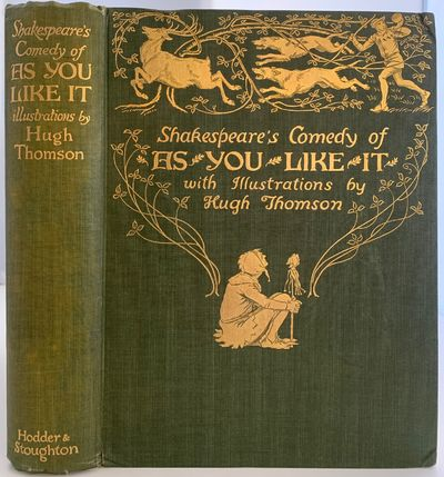 London: Hodder and Stoughton, 1909. First Edition. Cloth. Very good +. Hugh Thomson. First edition t...