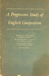 image of A progressive study of English composition