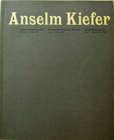 Dusseldorf Paris Jerusalem: Stadtische Kunsthalle et al., 1984. First edition. Paperback. Near Fine....