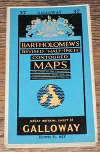 "Galloway - Bartholomew's Revised ""Half-Inch"" Contoured Maps, Great Britain Sheet 37"