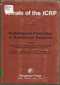 Annals of the ICRP. ICRP Publications 62.  Radiological Protection in Biomedical Research. Volume 22 No. 3 1991