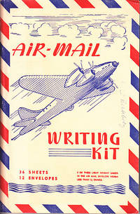 Military Air-Mail and V-Mail Writing Paper and Envelopes , in an Original Portfolio bearing the Calendars for 1945 and 1946