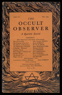 image of THE OCCULT OBSERVER. A Quarterly Journal. Numbers One to Six, A Complete Set.