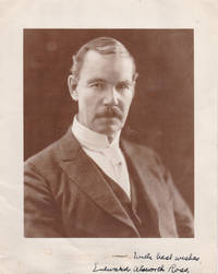 image of ORIGINAL PHOTO INSCRIBED AND SIGNED BY SOCIOLOGIST AND EUGENICIST EDWARD ALSWORTH ROSS.