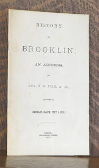 image of HISTORY OF BROOKLIN: AN ADDRESS, DELIVERED AT BROOKLIN, MAINE, JULY 4, 1876