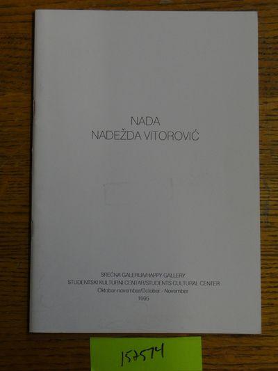 Beograd (Belgrade): Srecna Galerija, Studentski Kulturni Centar, 1995. Softcover. G (White covers ha...