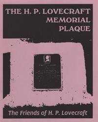 The H. P. Lovecraft Memorial Plaque