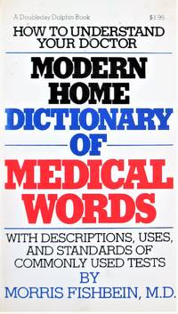 image of Modern Home Dicitonary of Medical Words