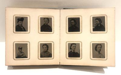 Gem Tintype Album 1860s Girls School