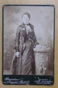 Cabinet Photograph: Portrait of a Finely Dressed Lady.