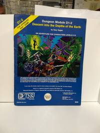 image of Descent Into The Depths Of The Earth (Advanced Dungeons and Dragons Module D1-2) (Dungeons & Dragon