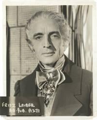 Original photograph of actor Fritz Leiber, circa 1930s