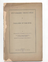 Hypodermic medication in diseases of the eye