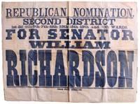 Large Political Campaign Banner