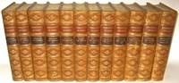 THE WORKS OF WILLIAM H. PRESCOTT. Leather set. History Conquest of Mexico, Peru, England,...