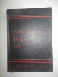 Social Register Boston 1968
