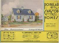 Popular Cape Cod Colonial Homes.  New Ideas by Small Home Architects.