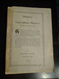 History of Carrollton Manor, Frederick County, Maryland