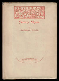 image of CURSORY RHYMES. Illustrated by Albert Rutherston.