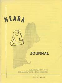 NEARA Newsletter: Vol. 11, No. 3, Winter 1977--Issue No. 41 by New England Antiquities Research Association - Paperback - 1977 - from Common Crow Books (SKU: B46967)