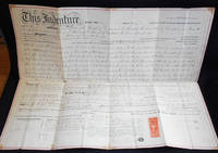 image of Printed and Handwritten Deed for Property in Doylestown, Pa., Sold by James and Susan Bleiler to Dr. George T. Harvey