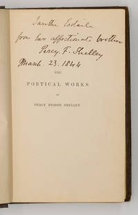 The Poetical Works Edited by Mrs. Shelley