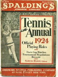 [TENNIS] SPALDING'S TENNIS ANNUAL 1924