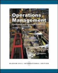 image of Operations Management: With Student CD-ROM: Contemporary Concepts and Cases