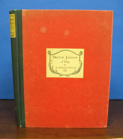 Boston: Atlantic Monthly Press, 1923. 1st edition. Hardback. No dj. Very Good.. 8vo.