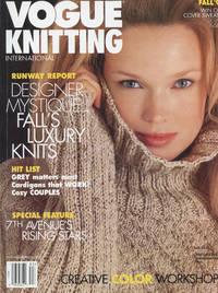 VOGUE KNITTING INTERNATIONAL : RUNWAY REPORT, DESIGNER MYSTIQUE, 7TH AVENUE'S RISING STARS : Fall 1998 (Vol 16, No 2)