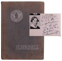 The Walton Periwinkle. [High School Yearbook Featuring Bella Abzug's Inscribed Senior Class Portrait. ]