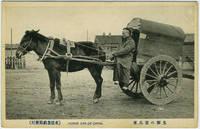 """Postcard. """"Horse Car of China"""""""